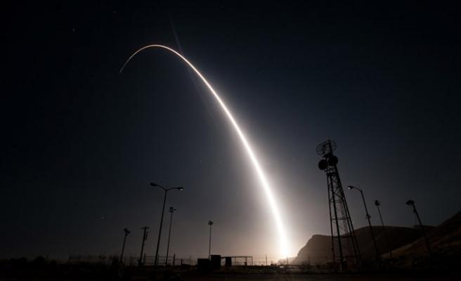 ABD kıtalararası balistik füzesi Minuteman-3'ü test etti