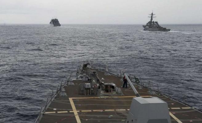 ABD savaş gemileri Güney Çin Denizi'nde
