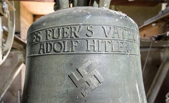 Alman kiliselerindeki nazi çanları tartışma konusu oldu