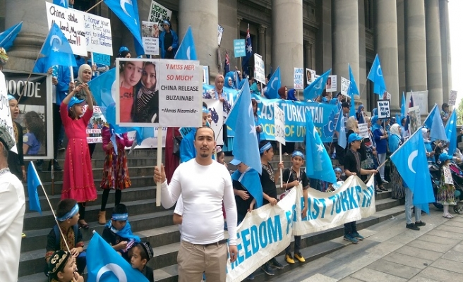 Avustralya Milli Görüş teşkilatından Çin'i protesto