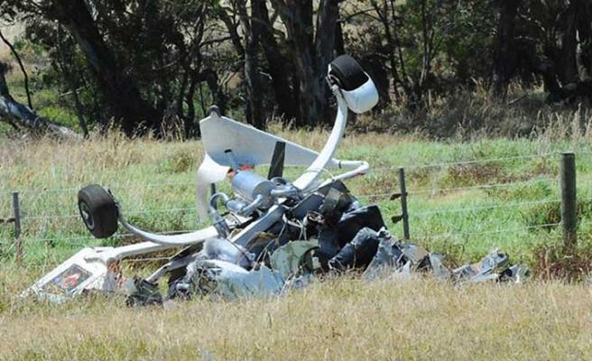 Avustralya'da gyrocopter kazası