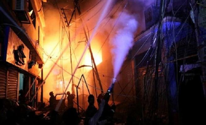 Bangladeş'te yangın faciası: En az 81 ölü