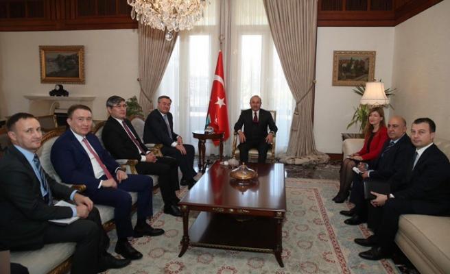 Çavuşoğlu Kazakistan Dışişleri Bakan Yardımcısı ile görüştü