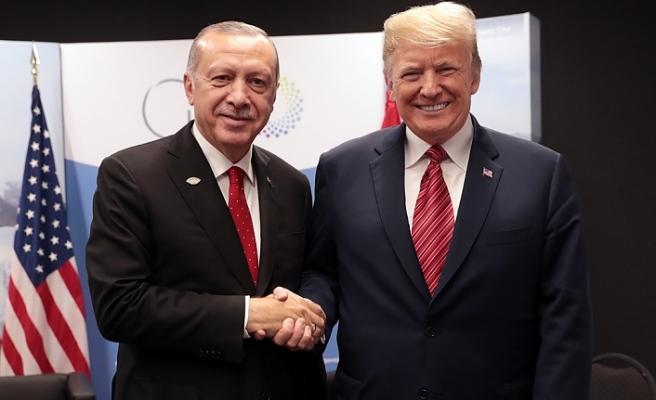 Cumhurbaşkanı Erdoğan ve Trump arasında kritik görüşme