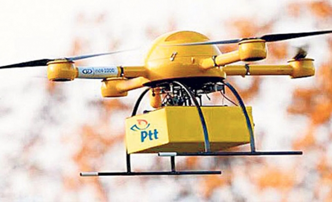 Drone Kargo yolda