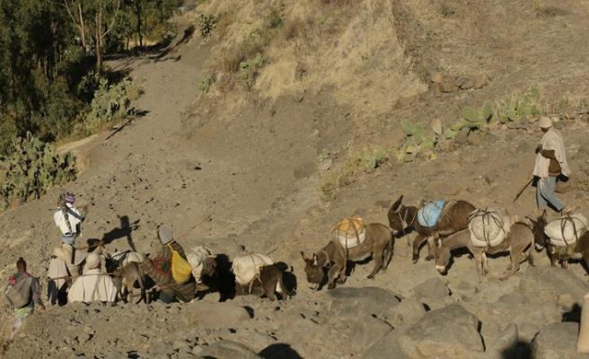 Ekmek parası için köyden pazara yolculuk