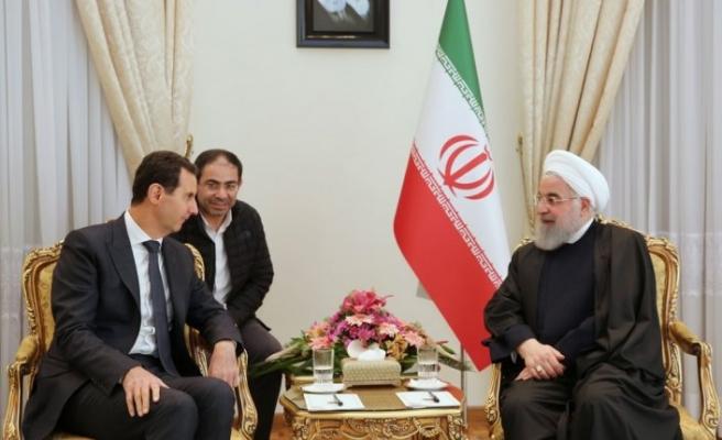 Esed, Hamaney ve Ruhani ile Tahran'da görüştü