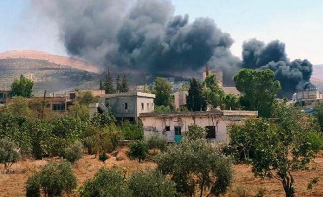 Esed, İdlib Gerginliği Azaltma Bölgesi'nde saldırmaya devam ediyor