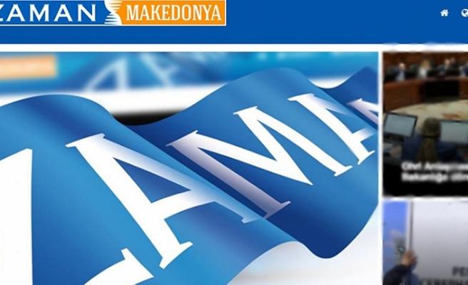 FETÖ'nün Kuzey Makedonya'daki Zaman gazetesi kapanıyor