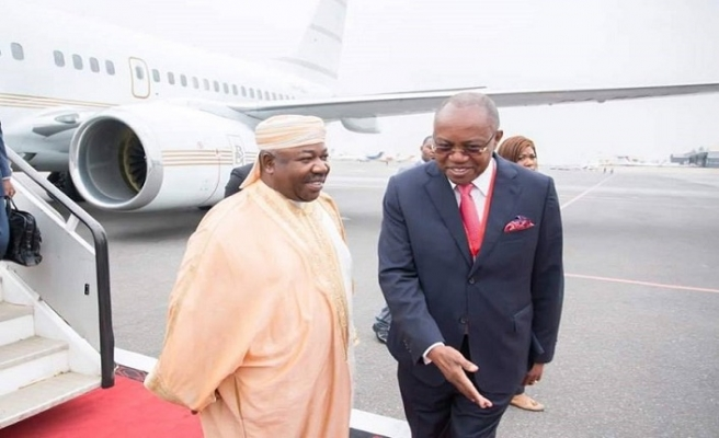 Gabon Cumhurbaşkanı Bongo ülkesine döndü