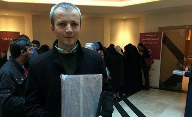 Görme engelli kursiyerlere dijital Kur'an-ı Kerim hediyesi