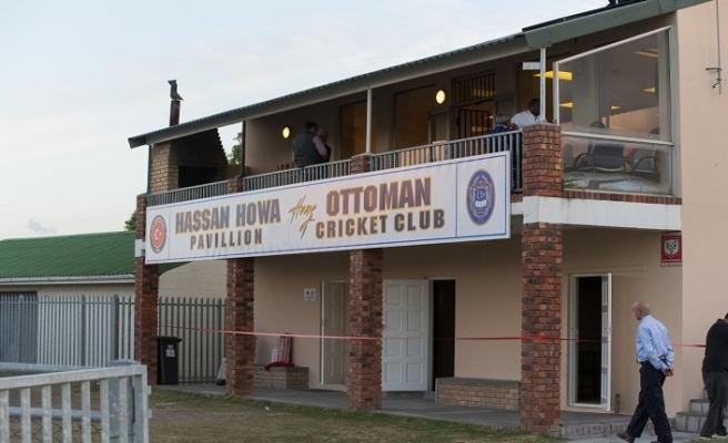 Güney Afrika'daki Osmanlı Kriket kulübüne ziyaret