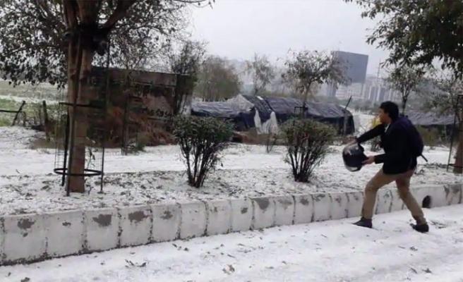 Hindistan'da evler yıkıldı insanlar yaralandı hayvanlar telef oldu