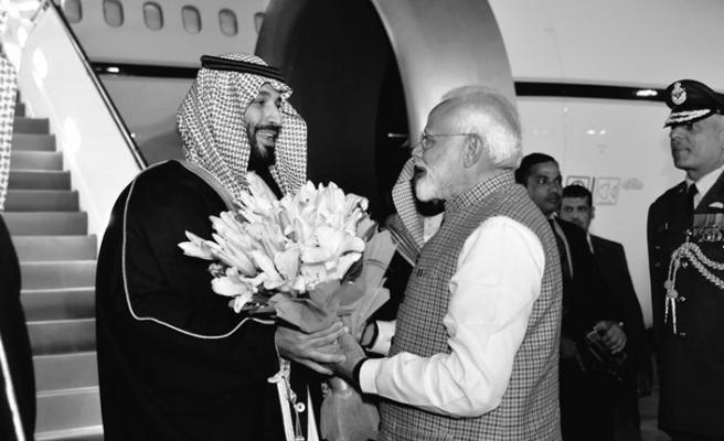 Hindistan prens Selman'ın gelişinden memnun