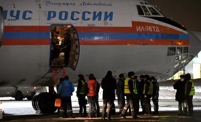 Irak'tan Rusya'ya 57 çocuk getirildi