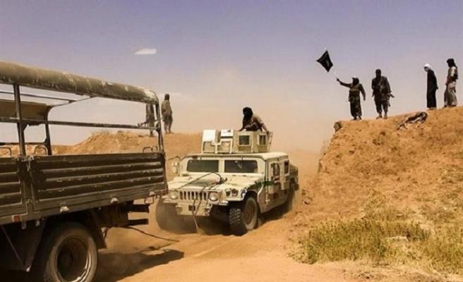 Irak'tan Suriye sınırına takviye güç