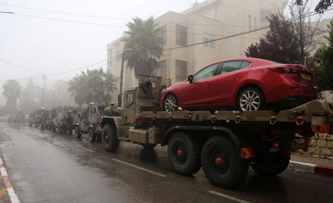 İsrail'den Ramallah'a baskın