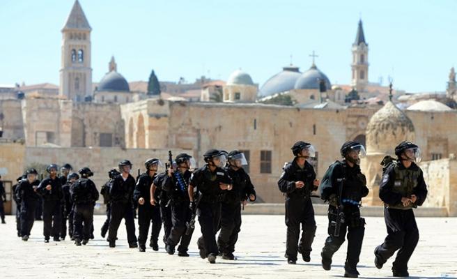 'İsrail Mescid-i Aksa'ya açık savaş ilan etti'