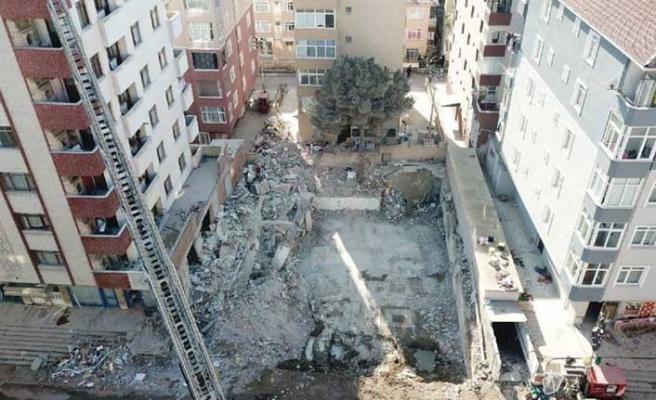 Kartal'da çöken binayla ilgili 3 gözaltı kararı