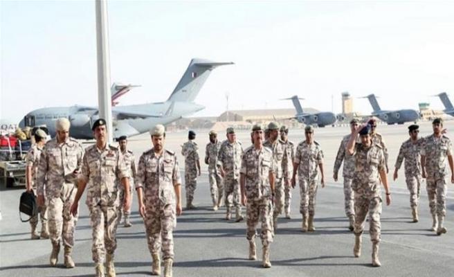Katar tatbikat için Suudi Arabistan'a gidiyor