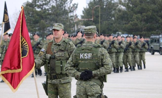 Kosova ordusu asker alımlarına başladı