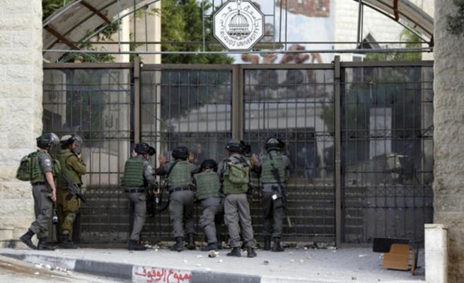 Kudüs Üniversitesi çevresine baskın