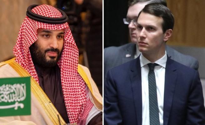 Trump'ın kıdemli danışmanı Kushner, Muhammed bin Selman'la görüştü