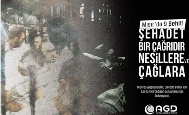 Mısır'daki idamlara AGD'den tepki