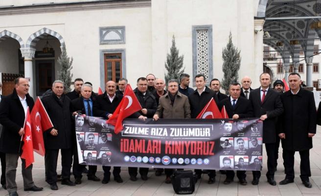 Mısır'daki idamlara tüm Türkiye'den tepki yağdı