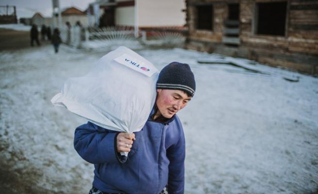 Moğolistan'daki Duha Türklerine TİKA yardımı