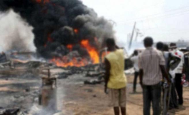 Nijerya'da tanker patladı: Ölü ve yaralılar var