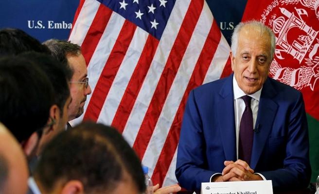 ABD'nin özel temsilcisi Halilzad Kabil'de