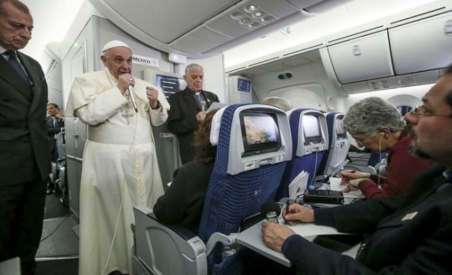 Papa BAE yolcusu