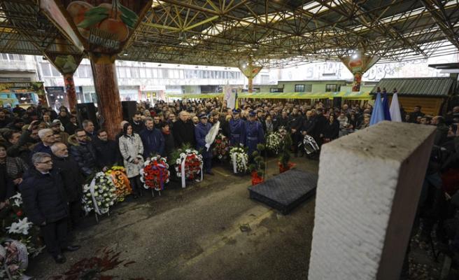 Saraybosna'daki Markale pazar yeri kurbanları anıldı