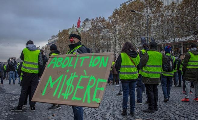 Sarı Yelekliler, Fransız ekonomisini vurdu