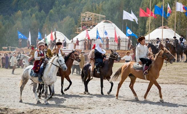 Suudiler Deve Festivali'nde Kırgız göçebe yaşamını tanıyacak