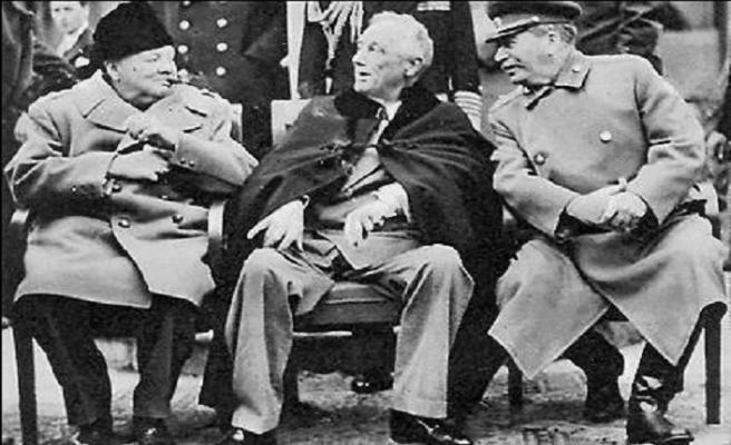 TARİHTE BUGÜN: II.Dünya savaşının galipleri Yalta'da toplandı