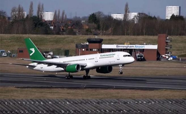 Türkmenistan hava yollarının uçuşları güvenlik ajansınca iptal edildi
