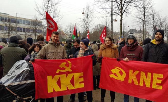 Yunanistan Komünist Partisi'nden Maduro'ya destek