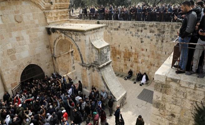 133 Filistinliye Mescidi Aksa'dan uzaklaştırma cezası