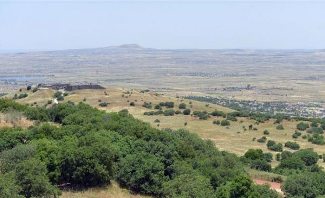 ABD, Golan Tepeleri için ilk kez 'İsrail kontrolündeki' ifadesini kullandı