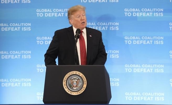 Trump: DEAŞ'ın elindeki toprakların yüzde 100'ünü geri aldık