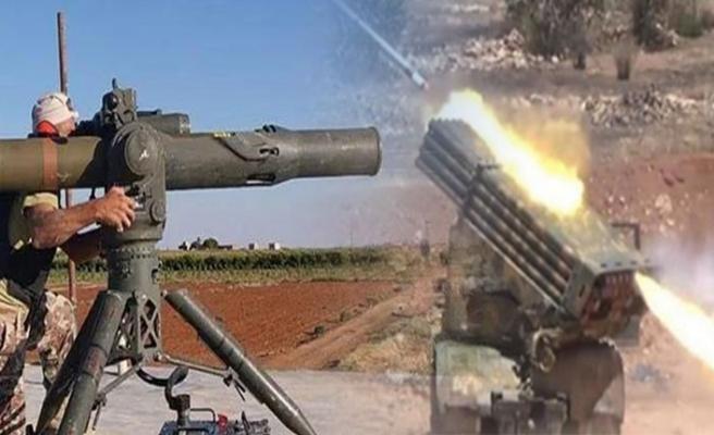Esed rejiminden İdlib'e yoğun bombardıman