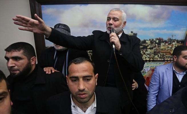 Hamas lideri Heniyye: Gazze'de ciddi bir ateşkes üzerinde çalışıyoruz