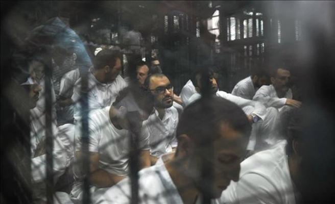 İdam edilen 9 genç için Şanlıurfa'da gıyabi namaz kılındı