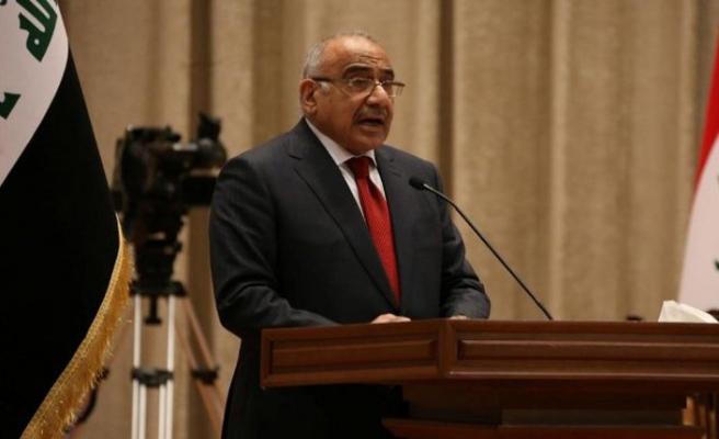 Irak Başbakanı Abdulmehdi Suudi Arabistan'a gidecek