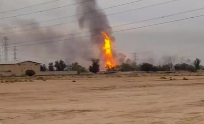 İran'da doğal gaz boru hattı patladı: 5 ölü