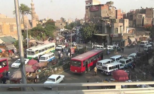 Kahire'nin Giza bölgesinde operasyon