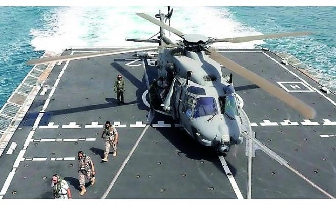 Katar ve İtalya donanmasından ortak tatbikat