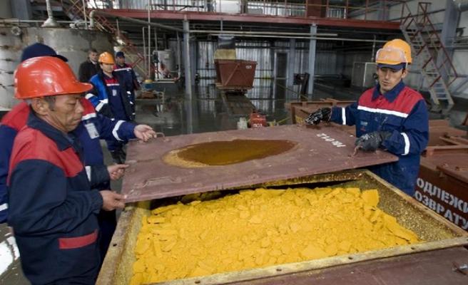 Kazakistan uranyum üretiminde dünya lideri